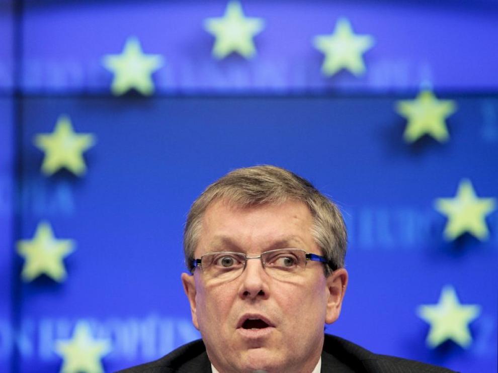 El presidente del consejo del Ecofin, el ministro húngaro de Economía György Matolcsy