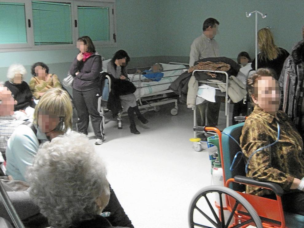 La gripe intensifica la falta de camas en el Servet
