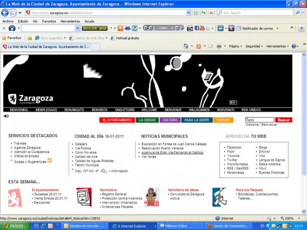 Web de Zaragoza.es