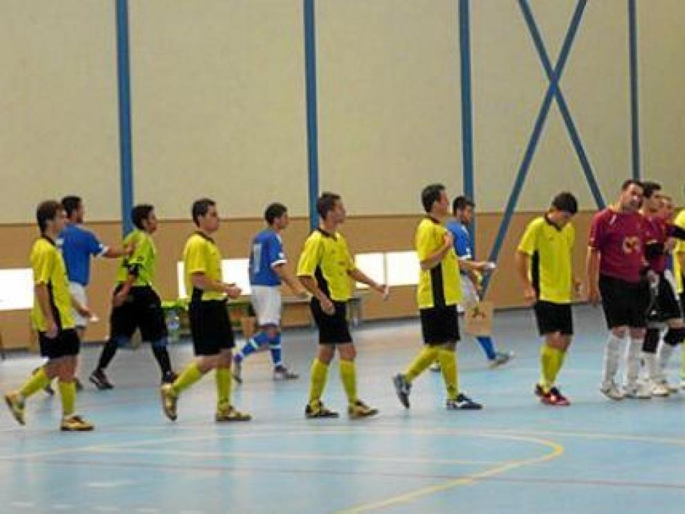 Imagen del partido entre el Pinseque y La Gomera, jugado en la isla tinerfeña.