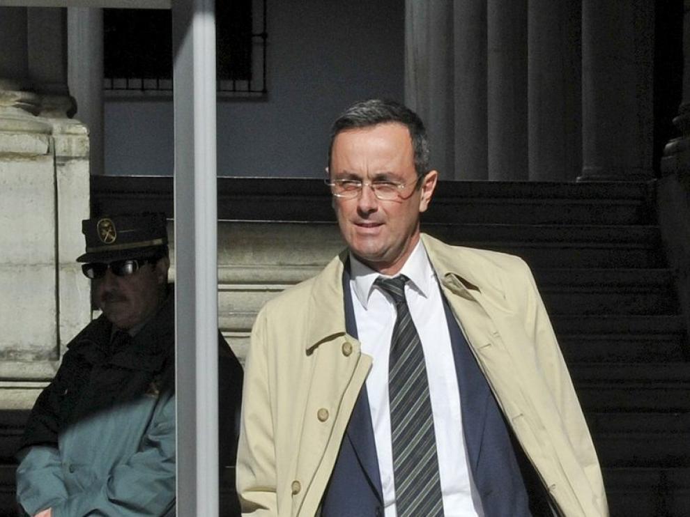 José María Calero, abogado de la defensa.