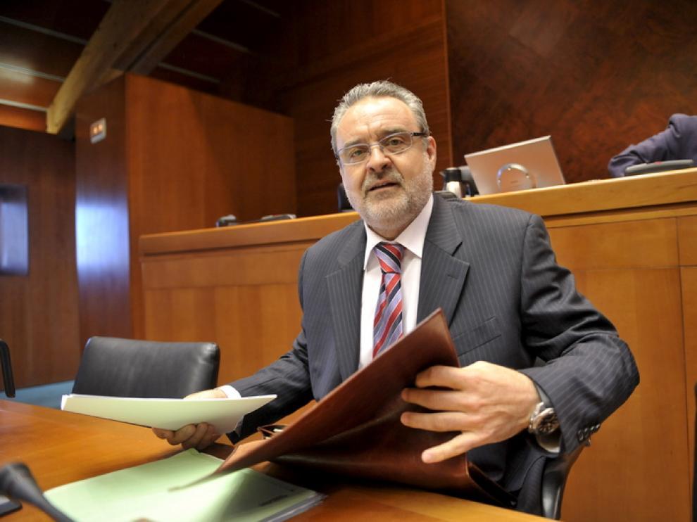 Alfredo Boné, portavoz del PAR