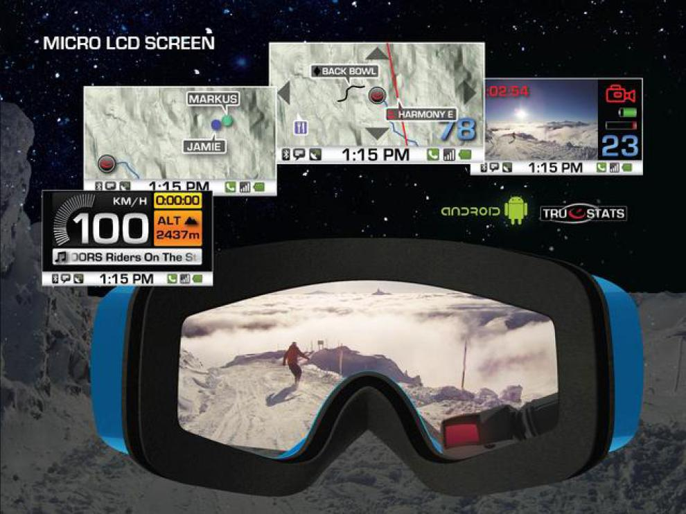 Las gafas Trascend protegen e informan