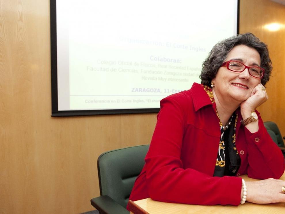 Rosario Heras, presidenta de la Real Sociedad Española de Física