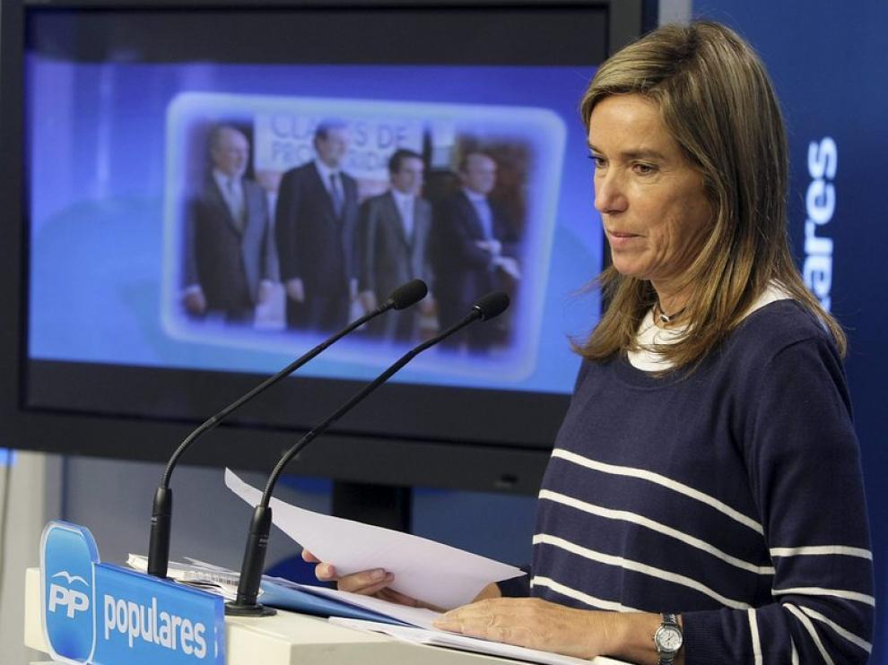Ana Mato asegura que el PP ganará en Asturias