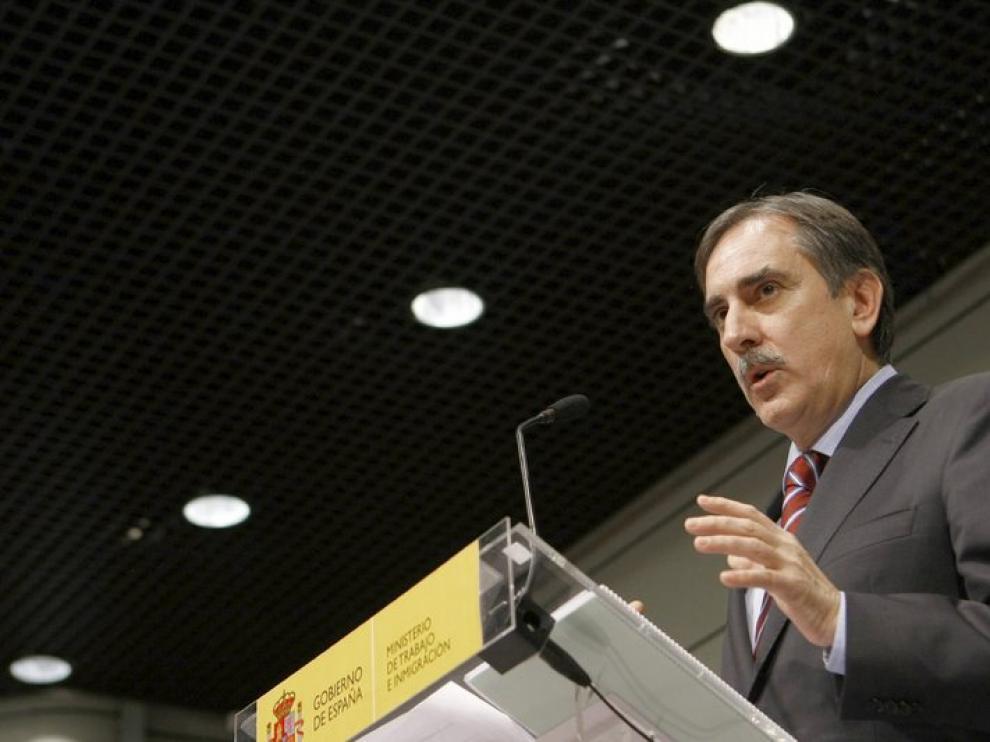 El ministro de trabajo Valeriano Gómez ha hecho balance de la reforma laboral