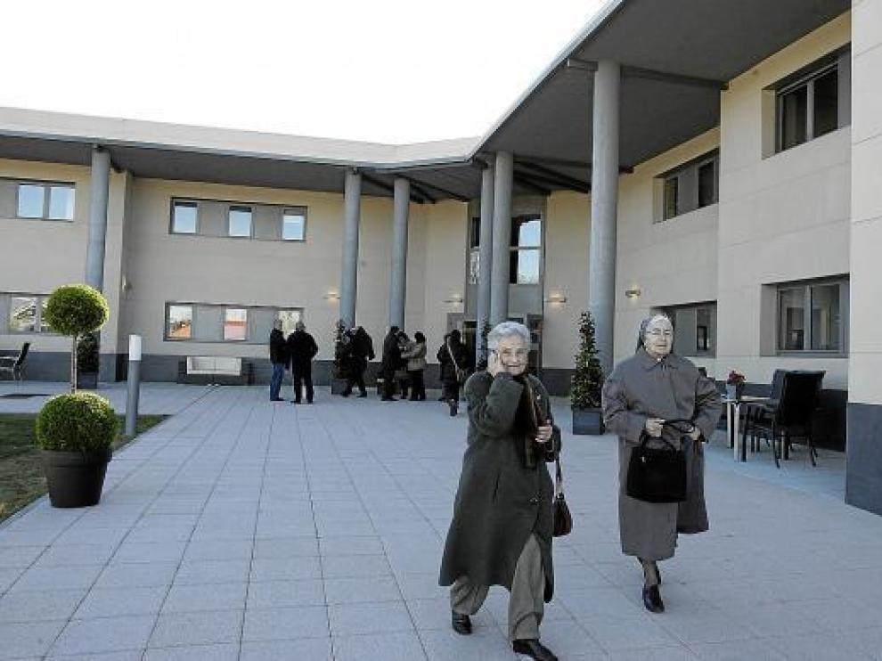 La construcción de la residencia se ha demorado diez años y ha costado casi 2 millones de euros.