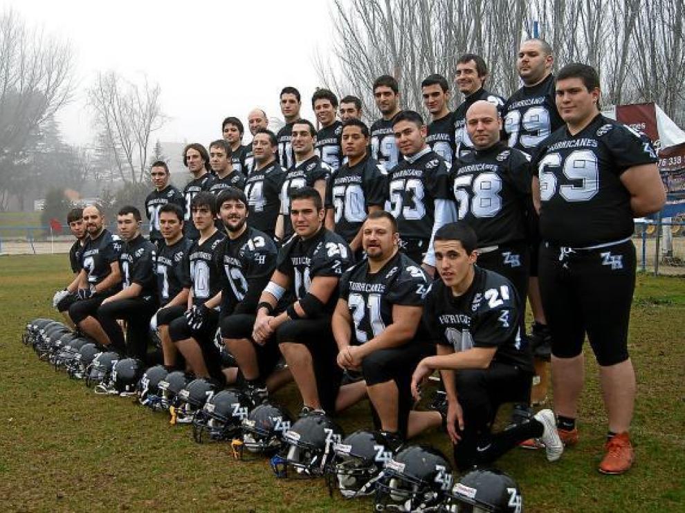 Formación de los Hurricanes, por segundo año en la elite del 'football' americano.