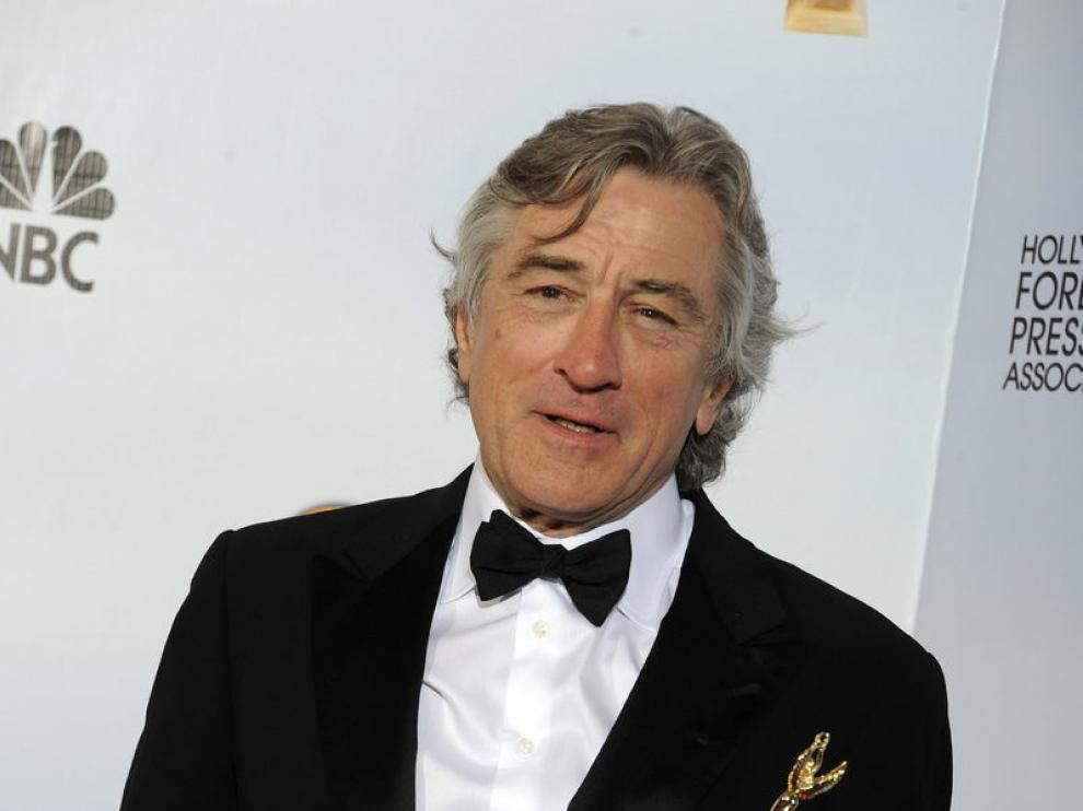 Robert De Niro en los Globos de Oro.