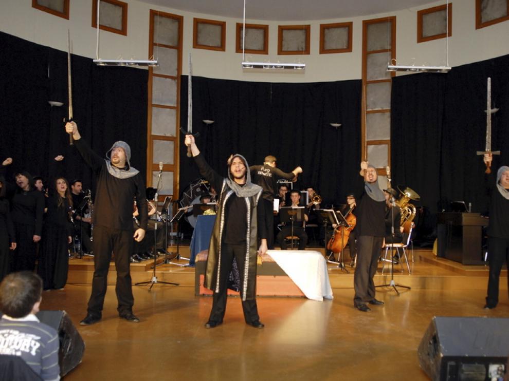 La representación del musical fue un éxito el pasado año