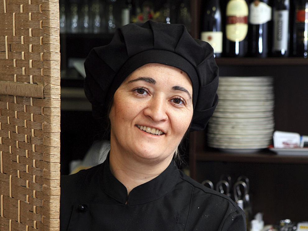 Ana María Igarza, cocinera del restaurante A Mesa Puesta