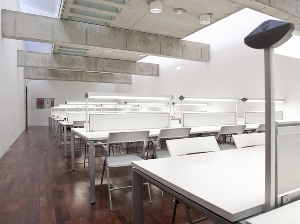 Nueva sala de estudio del Museo del Fuego.