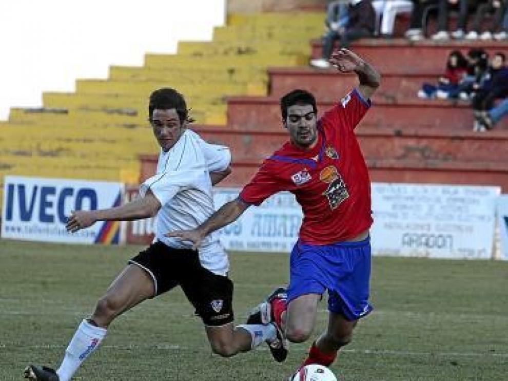 Imagen del partido que enfrentó al Teruel con el Alzira.