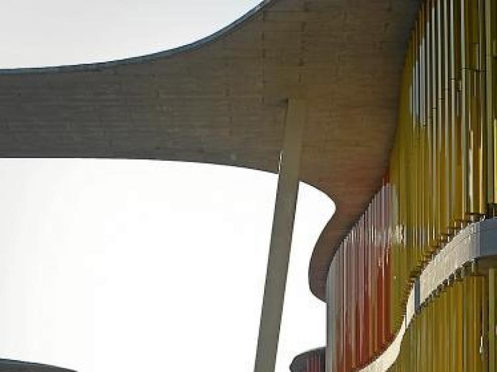 Instalaciones de la Expo en Ranillas