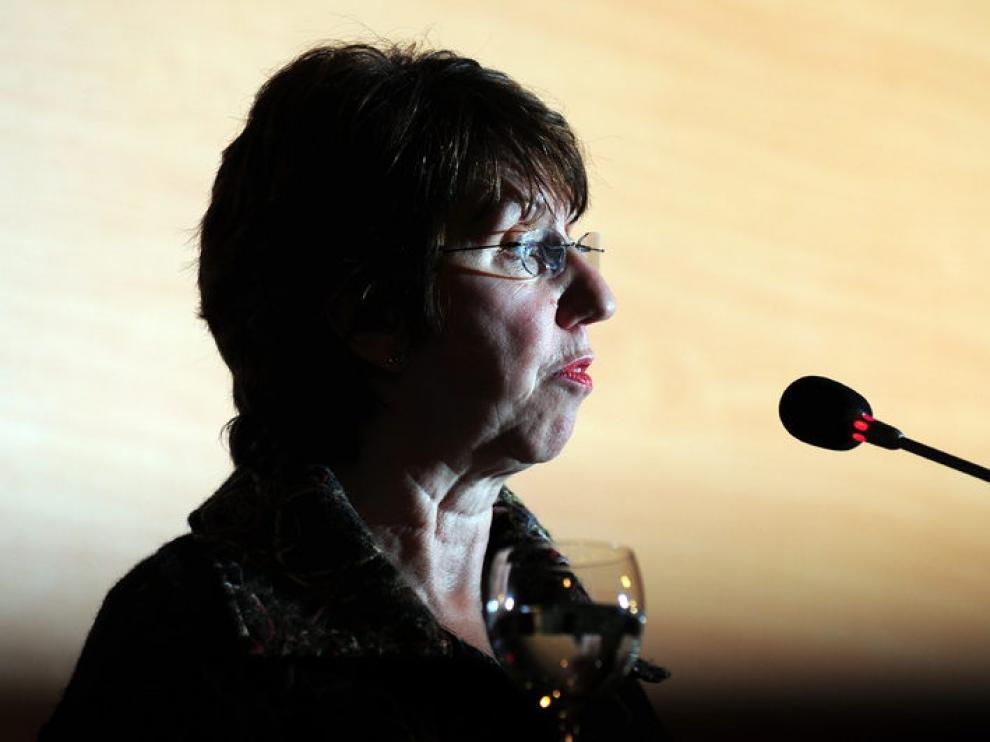 La responsable de la Política Exterior de la UE, Catherine Ashton