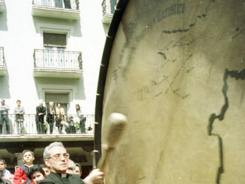 Monseñor Santos rompió la hora en Teruel