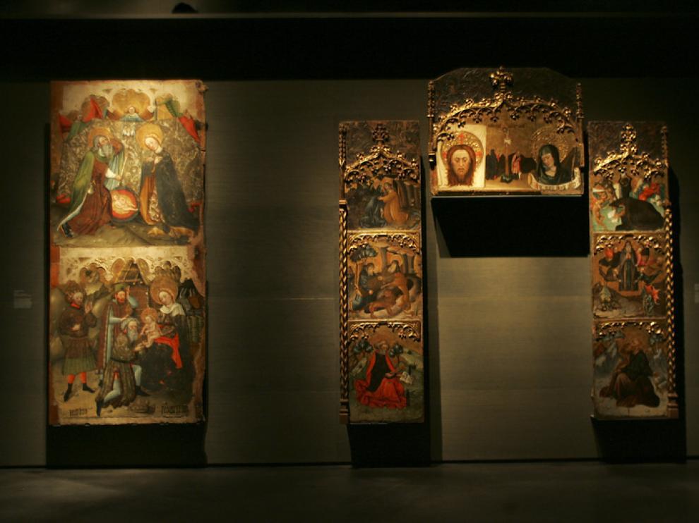 Bienes de la diócesis Barbastro-Monzón, expuestos en el Museo de Lérida