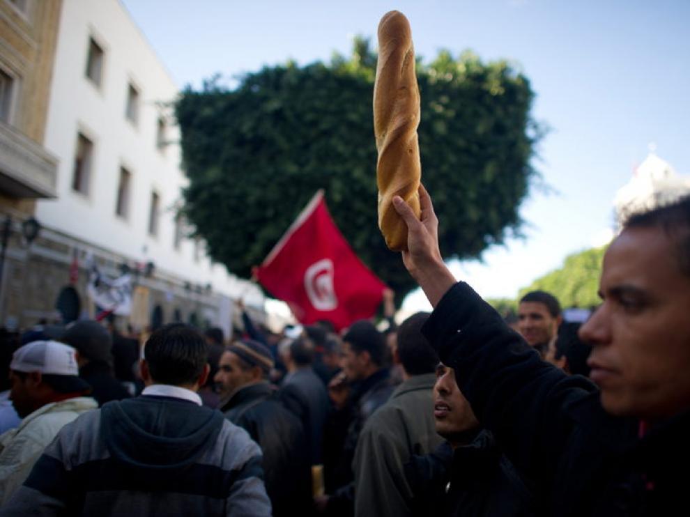 Protestas en las calles de la capital