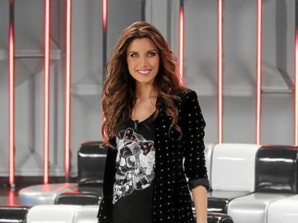 Pilar Rubio, en su estreno en 'Operación triunfo'.