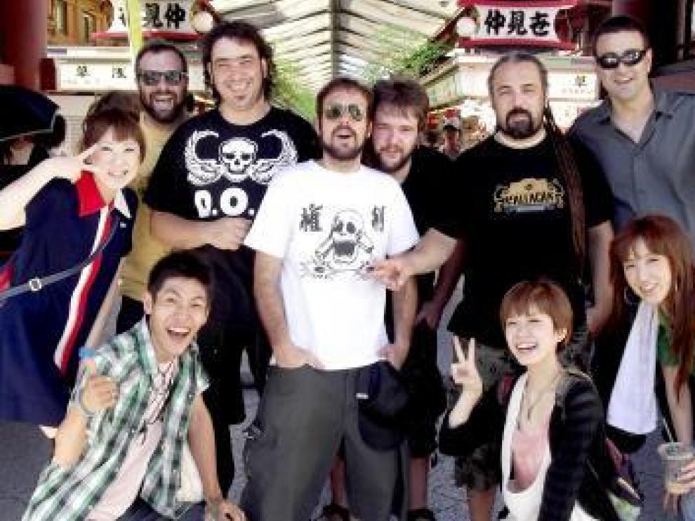 Mallacán, durante su gira japonesa.