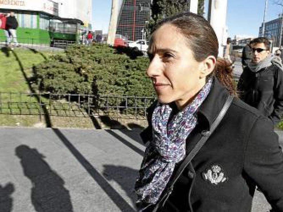 Nuria Fernández declaró ayer en calidad de testigo.