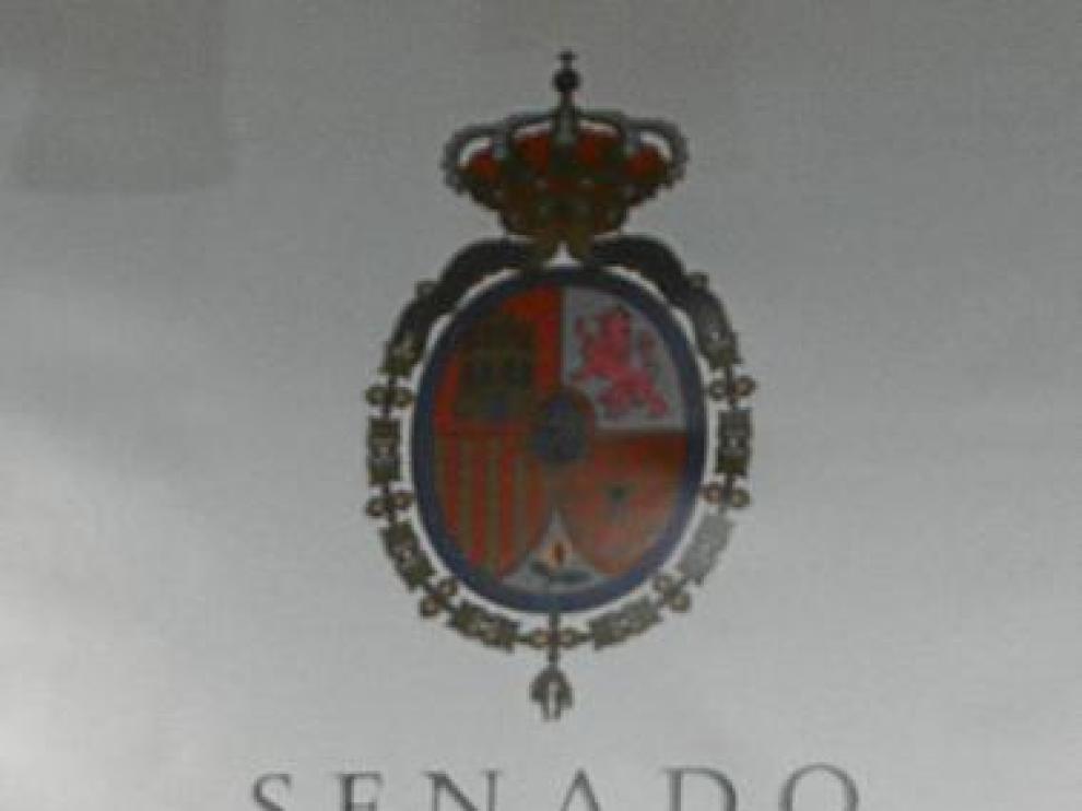 Ángeles González Sinde, ayer en el Senado.