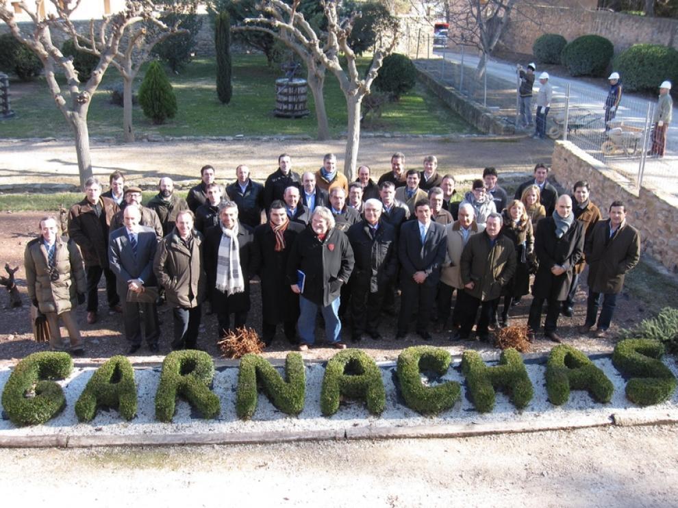 Muchos invitados participaron en el inicio de la gira 'Campo de Borja, el imperio de la garnacha'
