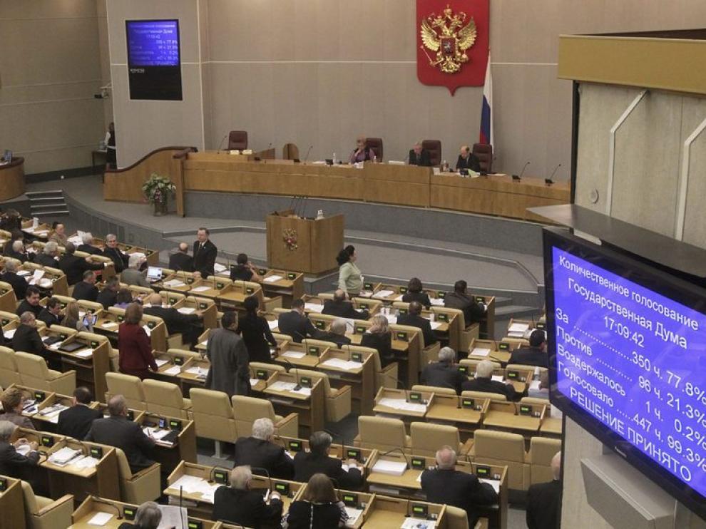 Los diputados rusos votan su apoyo al tratado nuclear