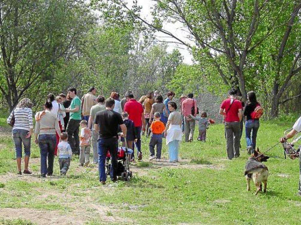 Los huertos sociales de Monzón se ubicarán en la zona de esparcimiento de los Sotos.
