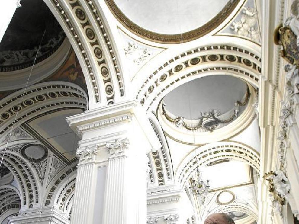 El proyecto de Antonio López para pintar en la basílica del Pilar, en punto muerto