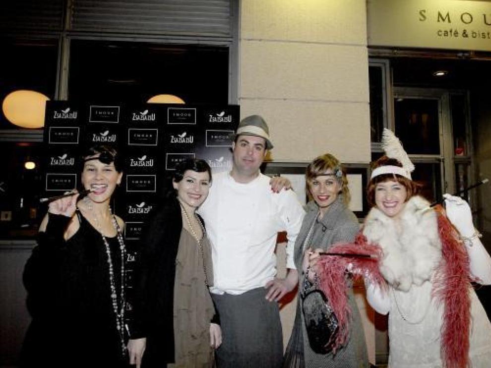 Laura González, Carlota Berdascos, Javier Blecua, Almudena González y Marta Bernard.