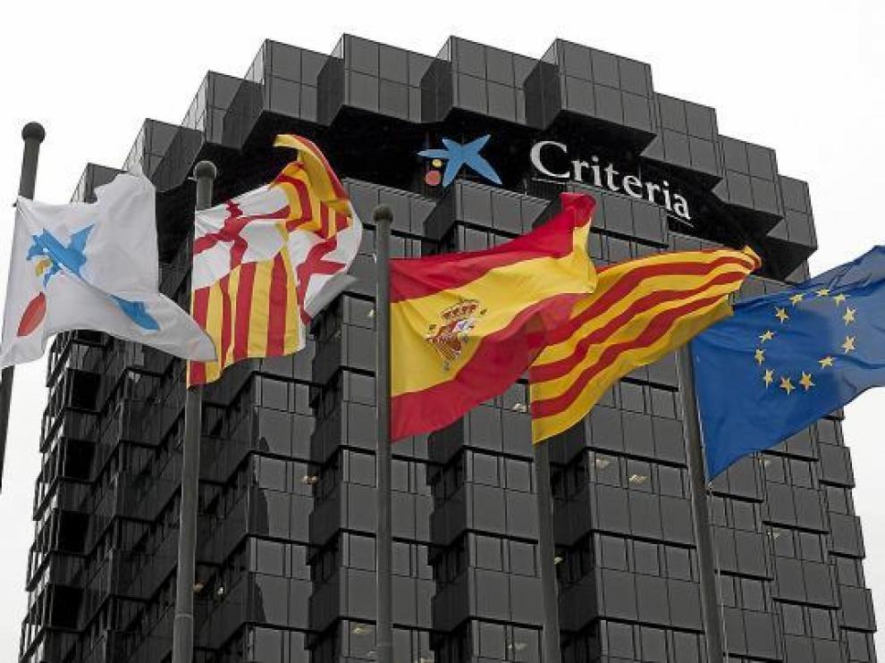 Sede de las oficinas centrales de La Caixa y Criteria en Barcelona.