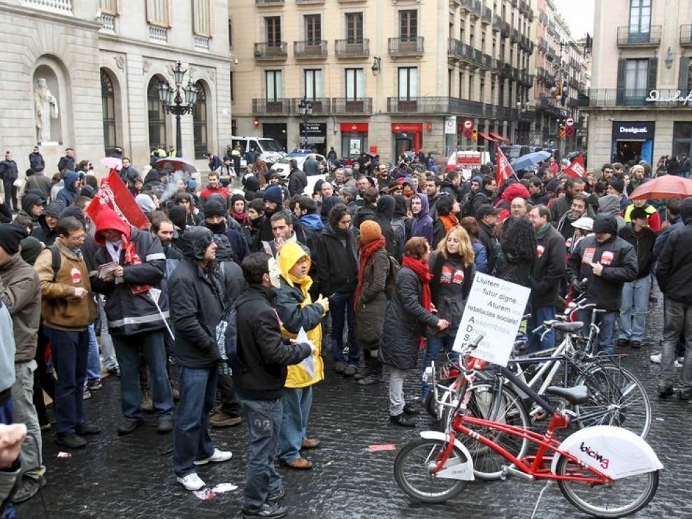 Concentración en Cataluña