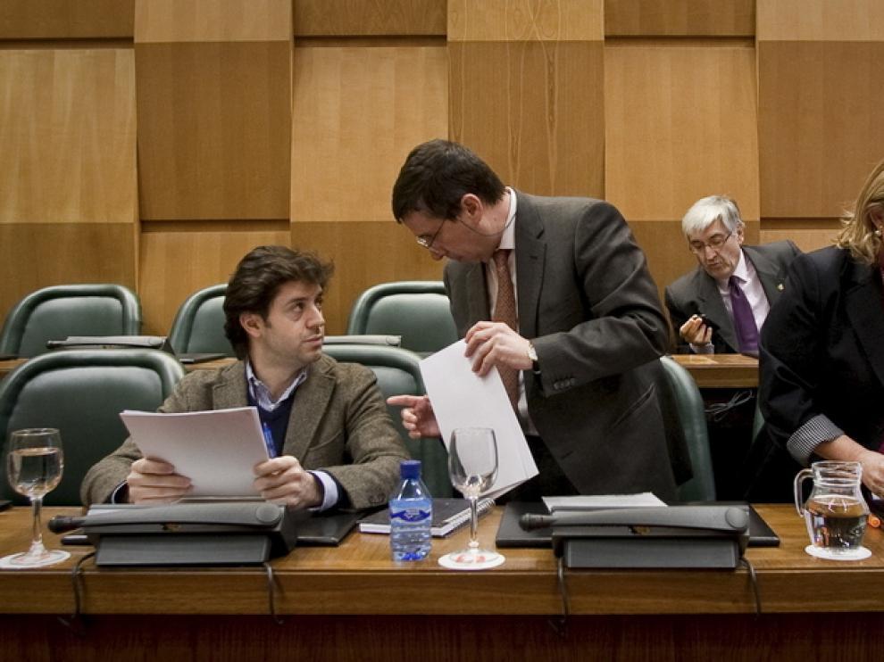 Comisión de Economía y Hacienda en el Ayuntamiento de Zaragoza