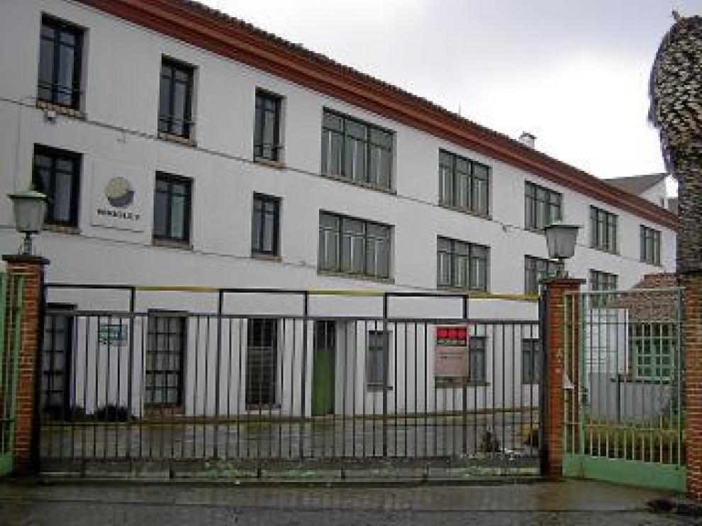 La fachada de las instalaciones de Wrigley.