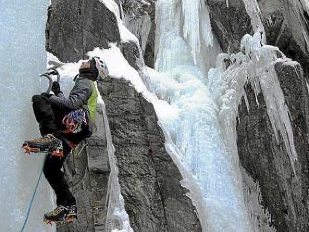 Atracción por el hielo