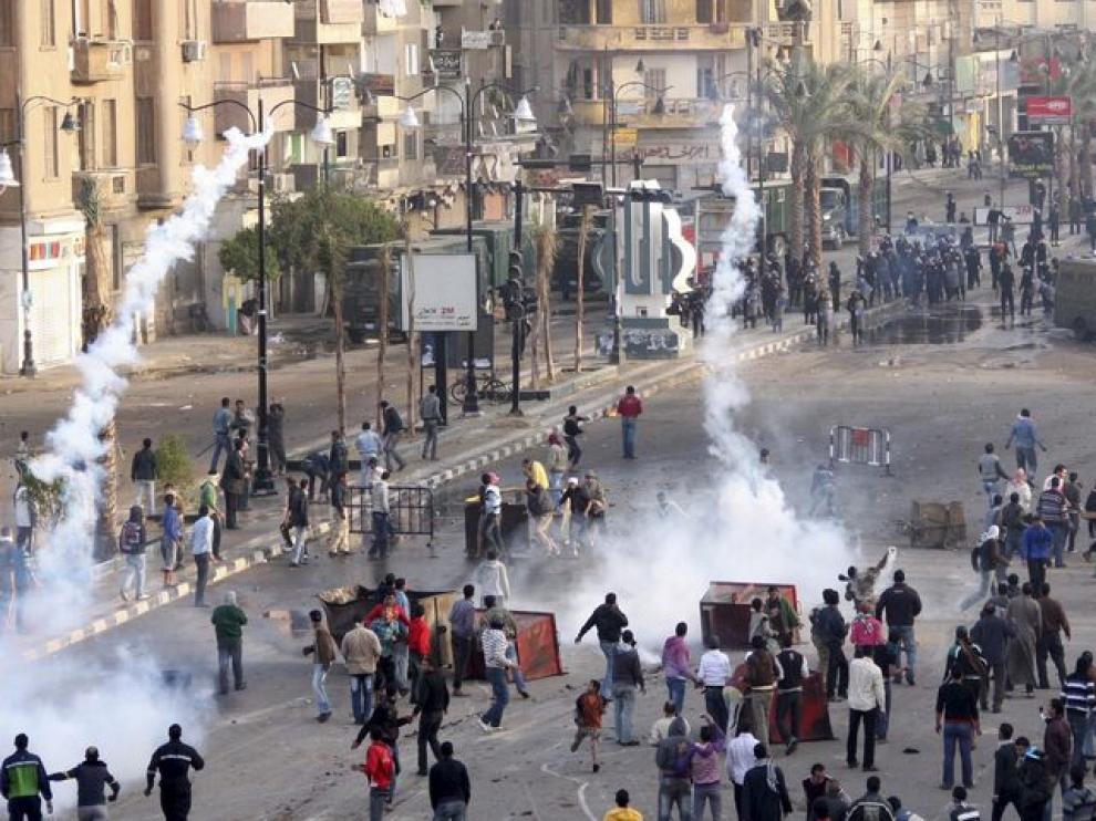 Distrurbios en la ciudad egipcia de Suez