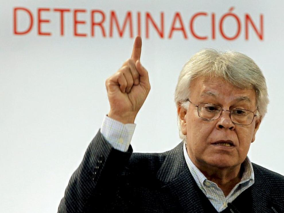 El ex presidente Felipe González