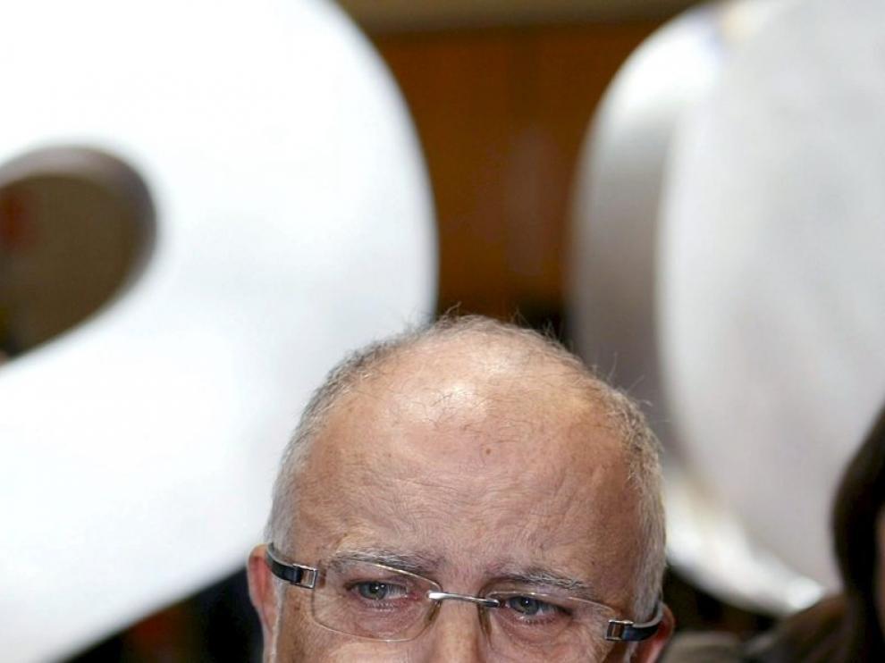 El secretario de Estado de Infraestructuras, Víctor Morlán, hoy en la exposición 'Gobiernos para los ciudadanos'