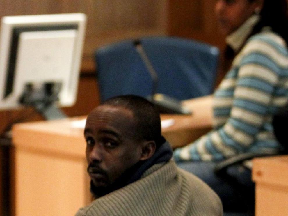 El presunto pirata somalí Raageggsey Adji Haman.