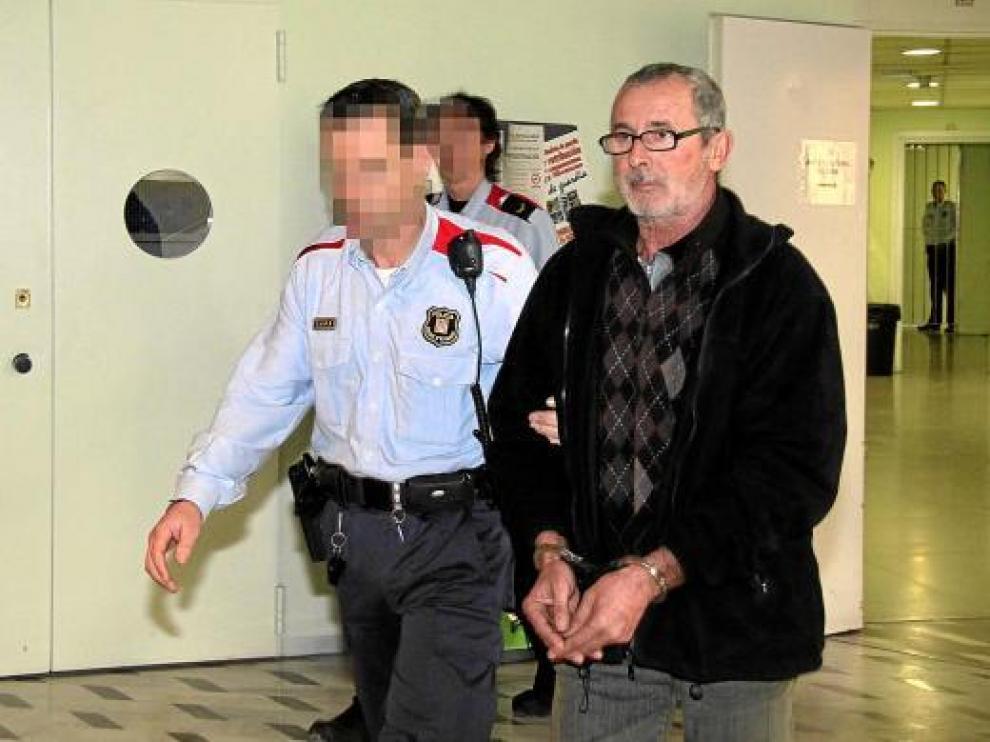 Josep Blanch fue llevado ante el juez por los Mossos y pocas horas después ingresó en prisión.