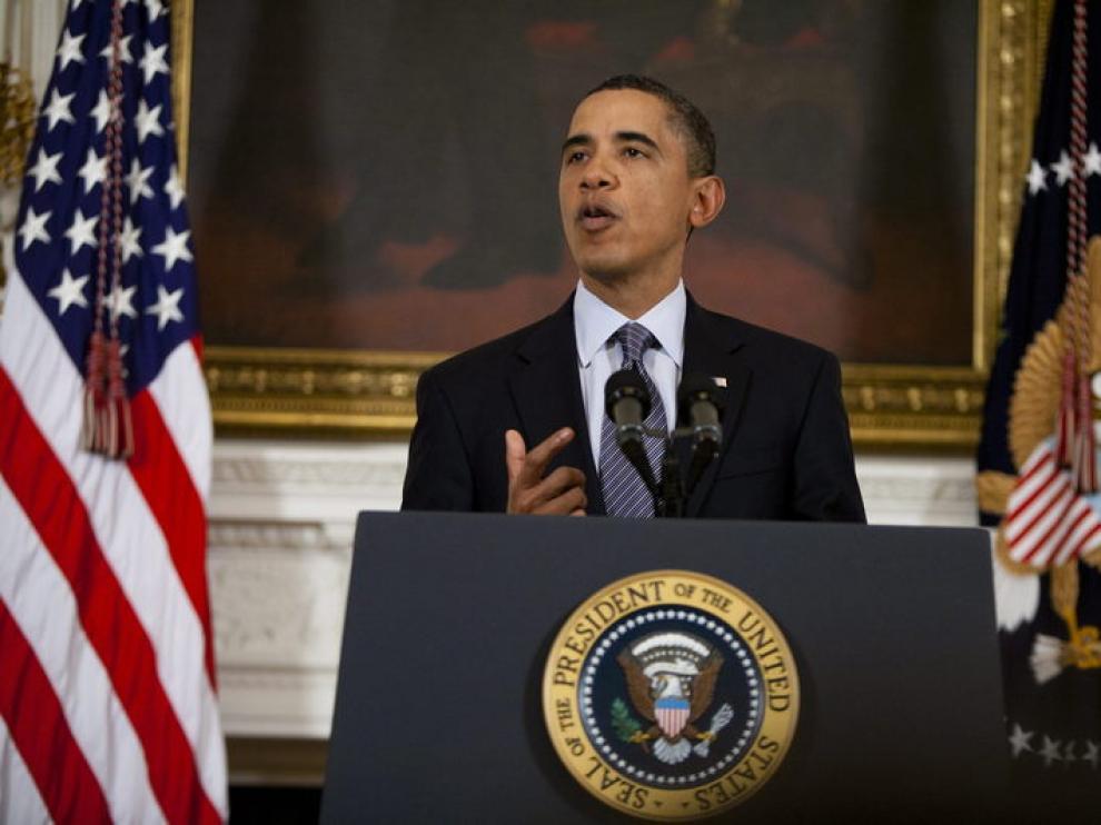Obama también se refirió a Egipto en estos términos
