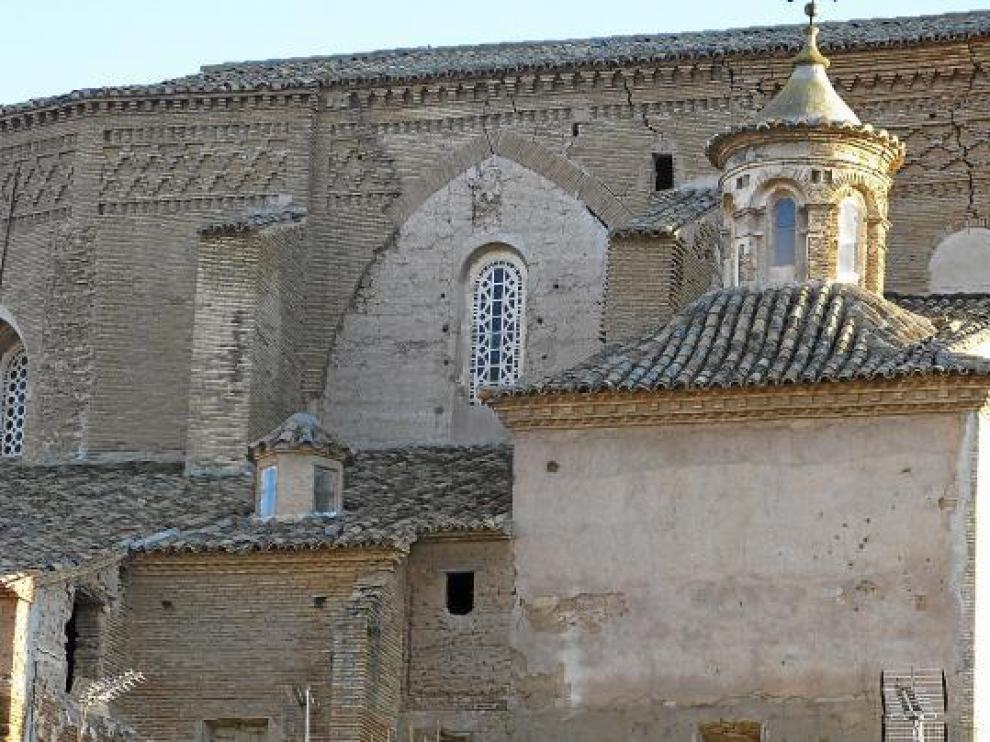 Una foto de archivo de la sinagoga de Híjar.