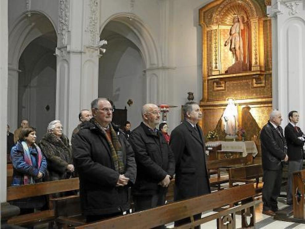 El delegado del Gobierno y el general jefe de la Guardia Civil en Aragón asistieron al acto.