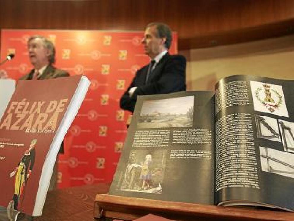 Presentación del primer tomo de la biografía, ayer en la DPH.