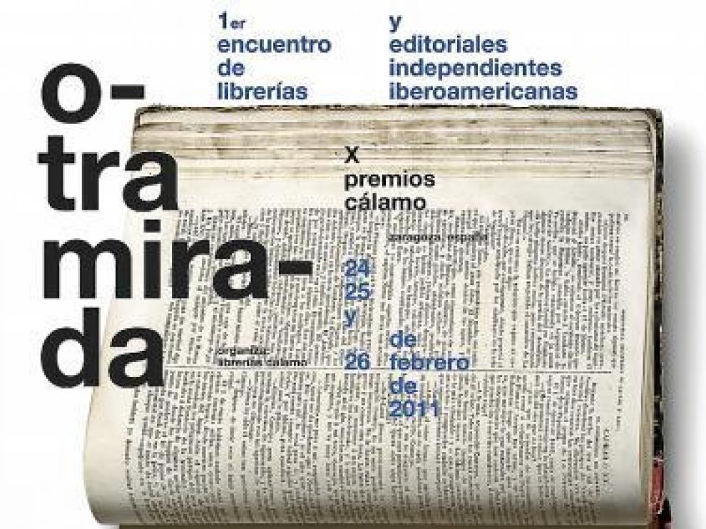Cartel anunciador del encuentro, obra de Isidro Ferrer.