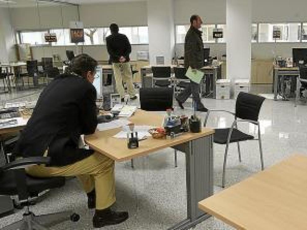 Las nuevas oficinas lucen un aspecto moderno y funcional.