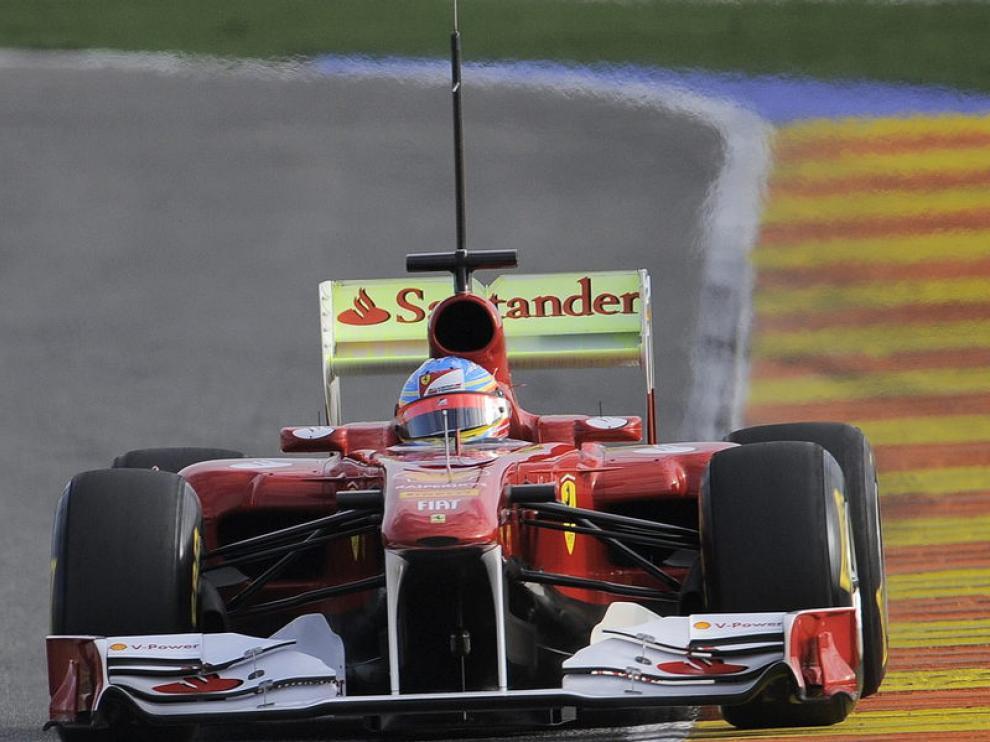Alonso con el F150, que ahora será F150th Italia