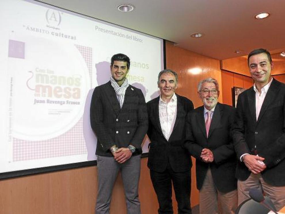 Guillermo García, José Luis Solanilla, Ángel de Uña y Juan Revenga.