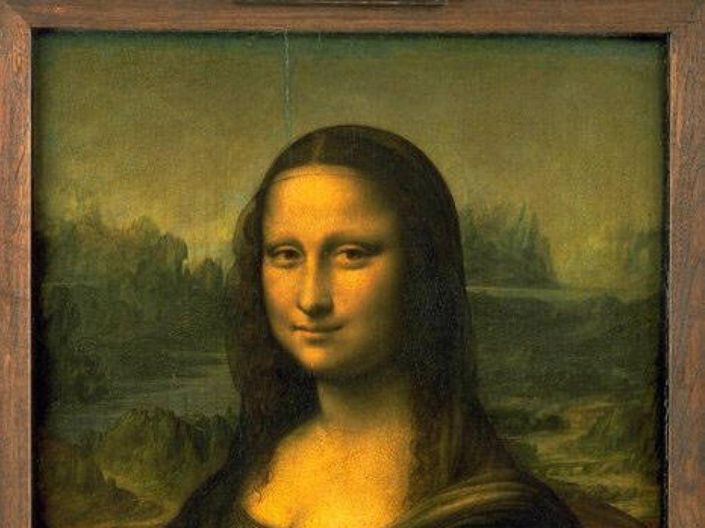 La Gioconda de Da Vinci.